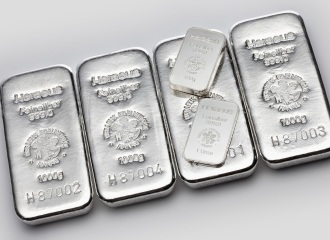 Silver Bars 1kg X 4